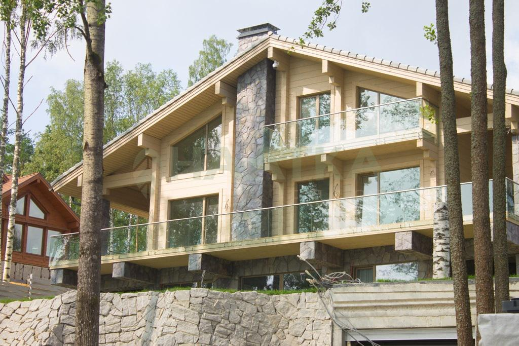 Дом из клееного бруса от компании HAATKA talot (Хаатка)